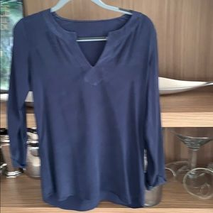 Blouse navy blue by Vince without tags